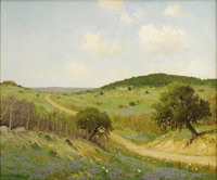 PORFIRIO SALINAS (1910-1973) Spring Verbena, Texas, 1962 Oil on canvas 20in. x 24in. Signed and dated lower left