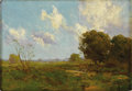Paintings, JULIAN ONDERDONK (1882-1922). Late Afternoon, 1909. Oil on wood panel. 6in. x 8.5in.. Signed lower right. Signed, dated,...