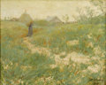 Texas:Early Texas Art - Impressionists, JULIAN ONDERDONK (1882-1922). Long Island, 1902. Oil oncanvas laid on board. 18in. x 22in.. Signed and dated lower righ...