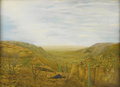 Texas:Early Texas Art - Regionalists, FULTON GERKE (1909-1979). Rest, 1951. Oil on masonite.21.5in. x 29.75in.. Signed lower right. Signed, titled and dated...