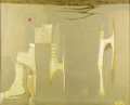 Paintings, JACK BOYNTON (1928-). Untitled, 1956. Oil on canvas. 48in. x 60in.. Signed lower left. A marvelous surreal abstraction...