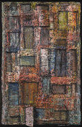 Texas:Early Texas Art - Modernists, LESLIE LARSSON (1913-1970). Tenement, 1957. Oil on masonite.32.5in. x 21in.. Signed and dated lower right. Titled verso...