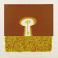Texas:Early Texas Art - Drawings & Prints, JACK BOYNTON (1928-). The Key (Knowledge), 1967. Colorlithograph. 18.5in. x 18.5in.. Signed lower right. From the Tam...