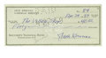 Autographs:Authors, Beat Generation Writer Jack Kerouac Signed 1958 Check. After hisdischarge from the Navy in 1943, Kerouac held a number of j...