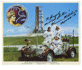 "Autographs:Celebrities, Apollo 17 Astronaut Harrison Schmitt Signed Photograph. Signed andinscribed ""To Joseph and the future! Harrison H. Schmit..."