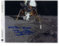 """Autographs:Celebrities, Apollo 11 Astronaut Buzz Aldrin Signed Photograph. Signed """"WithBest Wishes Buzz Aldrin,"""" 10.5"""" x 8"""", official NASA phot..."""