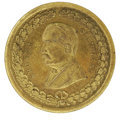 Political:Tokens & Medals, 1884 Grover Cleveland Democratic Candidate Brass Medal. This handsome medal measures 28mm across and is unholed. This medal ...