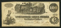 Confederate Notes:1862 Issues, T40 $100 1862 PF-5 Cr. 291.. ...