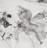 CECIL BEATON (British, 1904-1980) Marilyn Monroe #5, 1956 Gelatin silver 10-3/4 x 10-5/8 inches
