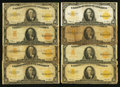 Large Size:Gold Certificates, $10 1907 and 1922 Gold Certificates Thirty-three Examples.. ...(Total: 33 notes)