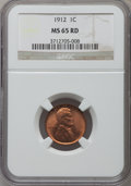 Lincoln Cents: , 1912 1C MS65 Red NGC. NGC Census: (72/11). PCGS Population(237/94). Mintage: 68,153,056. Numismedia Wsl. Price for problem...