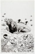 Original Comic Art:Covers, Win Mortimer Battle of the Planets #10 Cover Original Art(Whitman, 1980)....