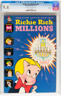 Bronze Age (1970-1979):Cartoon Character, Richie Rich Millions #48 File Copy (Harvey, 1971) CGC NM 9.4Off-white to white pages....