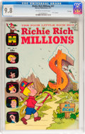 Bronze Age (1970-1979):Cartoon Character, Richie Rich Millions #47 File Copy (Harvey, 1971) CGC NM/MT 9.8 Off-white to white pages....