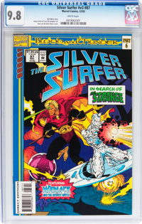 Silver Surfer #87 (Marvel, 1993) CGC NM/MT 9.8 White pages