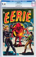 Silver Age (1956-1969):Science Fiction, Eerie #1 (I.W., 1964) CGC NM 9.4 Off-white to white pages....
