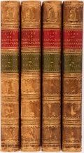 Books:World History, William Hazlitt. The Life of Napoleon Buonaparte.Illustrated London Library, 1852. Second edition, complete infour... (Total: 4 Items)