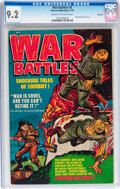 Golden Age (1938-1955):War, War Battles #5 File Copy (Harvey, 1952) CGC NM- 9.2 Cream to off-white pages....