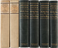 Books:Americana & American History, [Abraham Lincoln, subject]. Carl Sandburg. Abraham Lincoln thePrairie Years. New York: Harcourt, Brace and Company,...(Total: 6 Items)