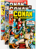 Bronze Age (1970-1979):Adventure, Conan the Barbarian #1-24 Group (Marvel, 1970-72) Condition: Average FN/VF.... (Total: 24 Comic Books)