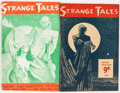 Pulps:Horror, Strange Tales #1 and 2 Group (Utopian Publications Ltd., 1946)Condition: Average VG/FN.... (Total: 2 Comic Books)