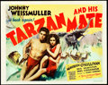 "Movie Posters:Adventure, Tarzan and His Mate (MGM, 1934). Title Lobby Card (11"" X 14"").. ..."