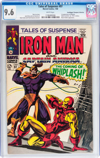 Tales of Suspense #97 Don/Maggie Thompson Collection pedigree (Marvel, 1968) CGC NM+ 9.6 White pages