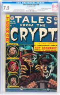 Golden Age (1938-1955):Horror, Tales From the Crypt #36 Don/Maggie Thompson Collection pedigree(EC, 1953) CGC VF- 7.5 Off-white to white pages....