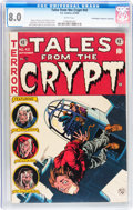 Golden Age (1938-1955):Horror, Tales From the Crypt #43 Don/Maggie Thompson Collection pedigree(EC, 1954) CGC VF 8.0 White pages....