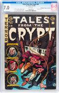 Golden Age (1938-1955):Horror, Tales From the Crypt #44 Don/Maggie Thompson Collection pedigree(EC, 1954) CGC FN/VF 7.0 White pages....