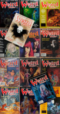 Books:Science Fiction & Fantasy, [SF Magazine]. Group of Fourteen Issues of Weird Tales, 1988-1991. Philadelphia: Terminus. Near fine. ... (Total: 14 Items)