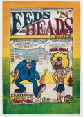 Silver Age (1956-1969):Alternative/Underground, Feds 'N Heads #1 First Printing (Gilbert Shelton, 1968) Condition:VG/FN....