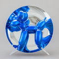 Post-War & Contemporary:Sculpture, JEFF KOONS (American, b. 1954). Balloon Dog (Blue), 2002.Metalized porcelain. 10-1/4 x 10-1/4 inches (25.9 x 25.9 cm). ...
