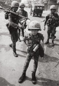 Photographs:20th Century, PHILIP JONES GRIFFITHS (American, 1936-2008). Untitled (Ten YearOld South Vietnamese Solider), 1968. Gelatin silver. 9-...