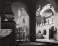 Photographs, ANSEL ADAMS (American, 1902-1984). Arches, North Court, Mission San Xavier del Bar, Tucson, Arizona, 1968. Gelatin silve...