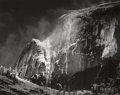 Photographs:20th Century, ANSEL ADAMS (American, 1902-1984). Half Dome, Blowing Snow,Yosemite National Park, California, from Portfolio VII, 1955...