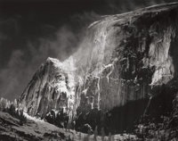 ANSEL ADAMS (American, 1902-1984) Half Dome, Blowing Snow, Yosemite National Park, California, from Portfolio V