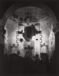 Photographs:20th Century, ANSEL ADAMS (American, 1902-1984). Interior of TumacacoriMission, New Mexico, 952. Gelatin silver, 1976. 19-5/8 x15-1/...