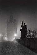 Photographs:20th Century, MICHAEL KENNA (British/American, b. 1953). Charles Bridge, Study4, Prague, Czechoslovakia, 1989. Gelatin silver, 1990. ...
