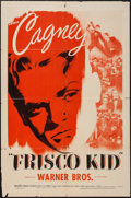 "Movie Posters:Adventure, Frisco Kid (Warner Brothers, R-1944). One Sheet (27"" X 41"").Adventure.. ..."