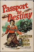 "Movie Posters:War, Passport to Destiny (RKO, 1944). One Sheet (27"" X 41""). War.. ..."