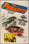 """Movie Posters:Crime, The Penalty (MGM, 1941). One Sheet (27"""" X 41""""). Crime.. ..."""