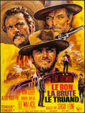 "Movie Posters:Western, The Good, the Bad and the Ugly (United Artists, R-1970s). FrenchGrande (45.75"" X 61""). Western.. ..."