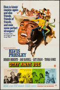 "Movie Posters:Elvis Presley, Stay Away, Joe (MGM, 1968). One Sheet (27"" X 41""). Elvis Presley.. ..."
