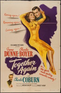 "Together Again (Columbia, 1944). One Sheet (27"" X 41""). Comedy"