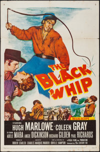 "The Black Whip & Others Lot (20th Century Fox, 1956). One Sheets (3) (27"" X 41""). Western. ... (Total:..."