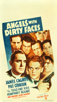 """Angels with Dirty Faces (Warner Brothers, 1938). Midget Window Card (8"""" X 14.25"""")"""