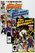 Modern Age (1980-Present):Superhero, The West Coast Avengers #1-102 Near Complete Run Plus Short BoxesGroup (Marvel, 1985-93) Condition: Average NM.... (Total: 14 Items)