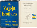 Books:Americana & American History, [Wright Brothers]. Fred C. Kelly. The Wright Brothers. ABiography Authorized by Orville Wright. New York: Harco...