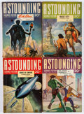 Pulps:Science Fiction, Astounding Stories Box Lot (Street & Smith, 1937-43) Condition:Average VG....